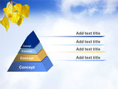 Yellow Leaves PowerPoint Template#10