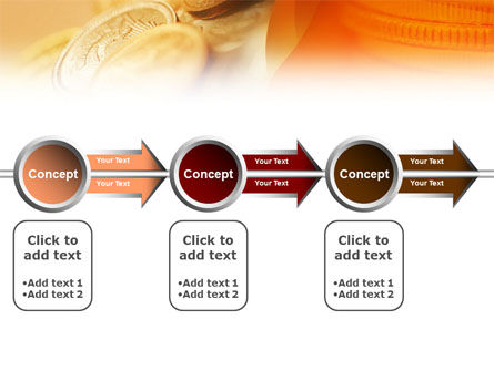 Coins PowerPoint Template Slide 11