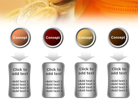 Coins PowerPoint Template Slide 18