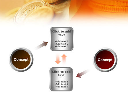 Coins PowerPoint Template Slide 19
