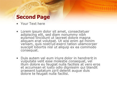 Coins PowerPoint Template, Slide 2, 01479, Financial/Accounting — PoweredTemplate.com