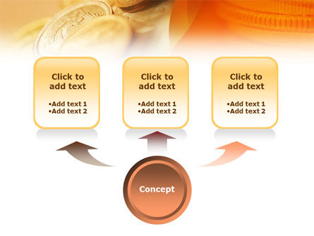 Coins PowerPoint Template Slide 4