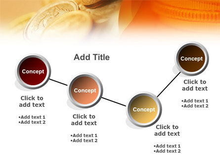 Coins PowerPoint Template Slide 6