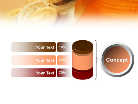 Coins PowerPoint Template Slide 8