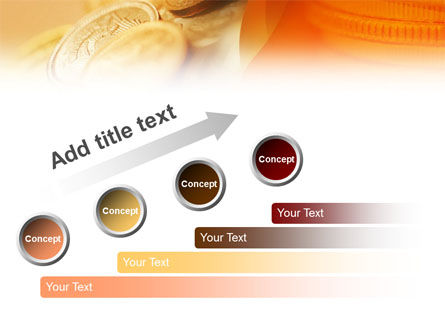 Coins PowerPoint Template Slide 9