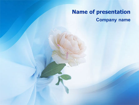 Holiday/Special Occasion: Wedding Bouquet PowerPoint Template #01480