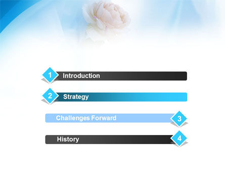 Wedding Bouquet PowerPoint Template, Slide 3, 01480, Holiday/Special Occasion — PoweredTemplate.com