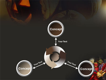 Halloween Costumes PowerPoint Template Slide 12
