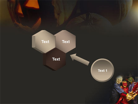 Halloween Costumes PowerPoint Template Slide 19