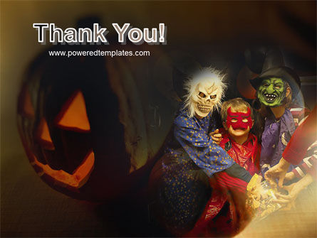 Halloween Costumes PowerPoint Template Slide 20