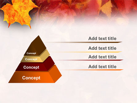 Fallen Red Leaves PowerPoint Template Slide 10
