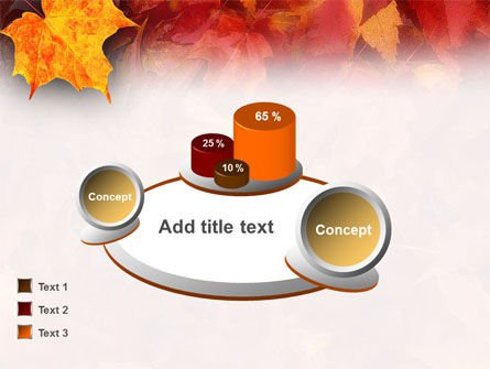 Fallen Red Leaves PowerPoint Template Slide 13