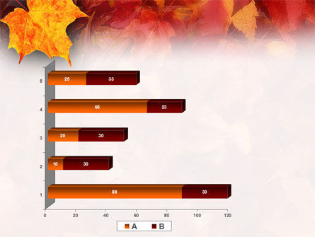 Fallen Red Leaves PowerPoint Template Slide 17
