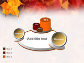 Fallen Red Leaves PowerPoint Template#13