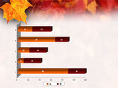 Fallen Red Leaves PowerPoint Template#17