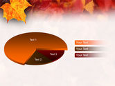 Fallen Red Leaves PowerPoint Template#19