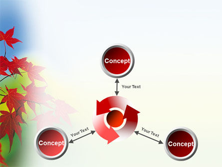 Autumn Red Leaves PowerPoint Template Slide 12