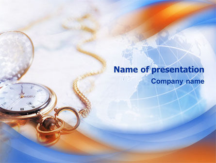 Global: Global Time PowerPoint Template #01484
