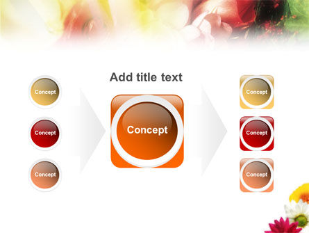 Yellow Red Flowers PowerPoint Template Slide 17