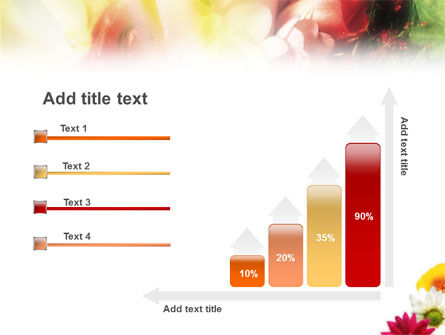 Yellow Red Flowers PowerPoint Template Slide 8