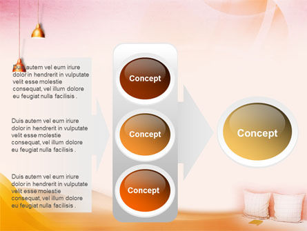 Comfort In A Bedroom PowerPoint Template Slide 11
