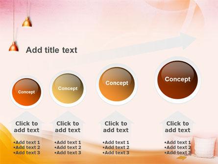 Comfort In A Bedroom PowerPoint Template Slide 13