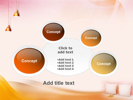 Comfort In A Bedroom PowerPoint Template Slide 16