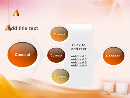 Comfort In A Bedroom PowerPoint Template Slide 17