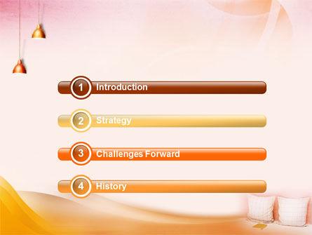 Comfort In A Bedroom PowerPoint Template, Slide 3, 01488, Careers/Industry — PoweredTemplate.com