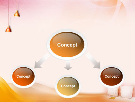 Comfort In A Bedroom PowerPoint Template, Slide 4, 01488, Careers/Industry — PoweredTemplate.com