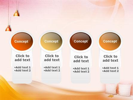 Comfort In A Bedroom PowerPoint Template Slide 5