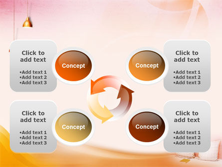Comfort In A Bedroom PowerPoint Template Slide 9