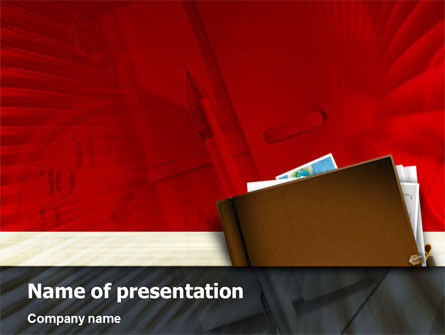 Business: Business Planning PowerPoint Template #01489