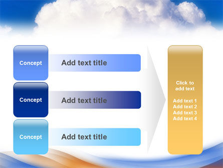 Cloud PowerPoint Template Slide 12