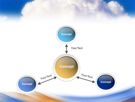 Cloud PowerPoint Template Slide 14