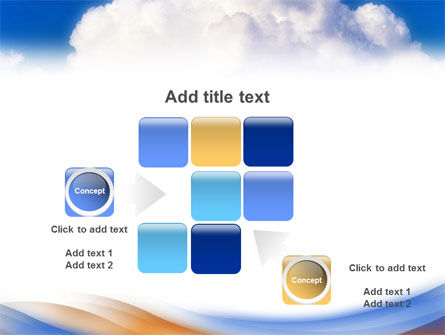 Cloud PowerPoint Template Slide 16