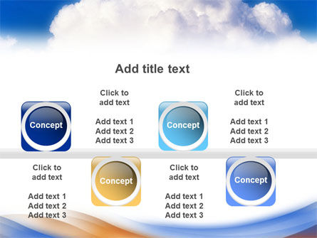Cloud PowerPoint Template Slide 19