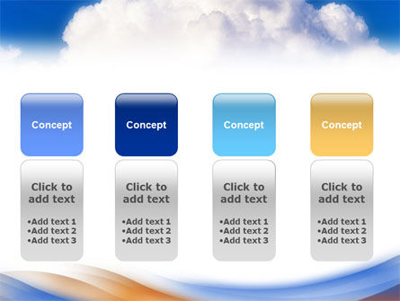 Cloud PowerPoint Template Slide 5