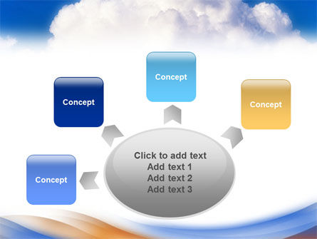 Cloud PowerPoint Template Slide 7