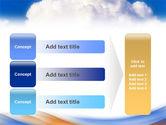 Cloud PowerPoint Template#12