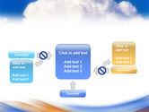 Cloud PowerPoint Template#13