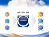 Cloud PowerPoint Template#17