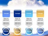 Cloud PowerPoint Template#18