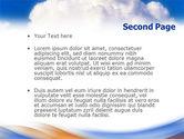 Cloud PowerPoint Template#2