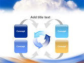 Cloud PowerPoint Template#6