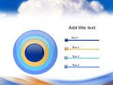 Cloud PowerPoint Template#9
