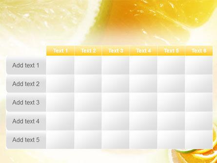 Citrus PowerPoint Template Slide 15