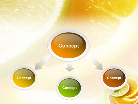 Citrus PowerPoint Template, Slide 4, 01494, Food & Beverage — PoweredTemplate.com