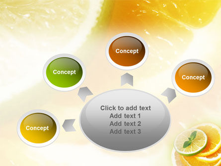 Citrus PowerPoint Template Slide 7