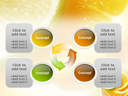 Citrus PowerPoint Template Slide 9